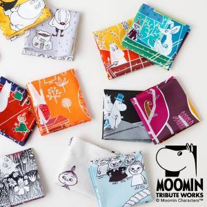 (送料無料)MOOMIN TRIBUTE WORKS ムーミン ハンカチ|baby-jacksons