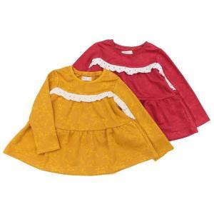 【nousノベルティ対象商品】あすつく 子供服 女の子 キムラタン Biquette Club ビケットクラブ  Tシャツ(長袖) 80 90 95 100 110 120 130|baby-kids-kimuratan