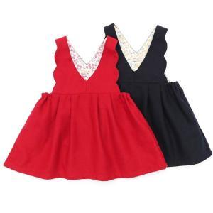 子供服 女の子 キムラタン Biquette Club ビケットクラブ  ジャンパースカート 80 90 95 100 110 120 130|baby-kids-kimuratan