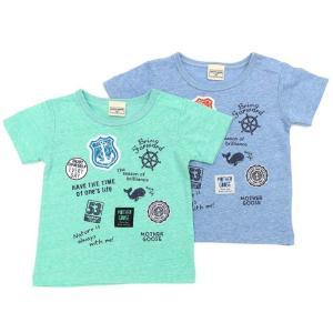 あすつく 子供服 男の子 キムラタン mother goose マザーグース  半袖Tシャツ 80 90 95 100 110 120 130|baby-kids-kimuratan