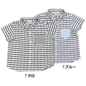 あすつく 子供服 男の子 キムラタン mother goose マザーグース  半袖シャツ 80 90 95 100 110 120 130|baby-kids-kimuratan
