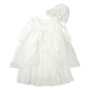 """""""わが子の誕生を祝福し健やかな成長を願う家族の思いをそのまま、ベビードレスに込めました。 エプロンド..."""