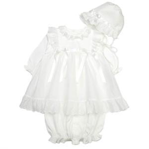 お宮参りやおひろめに、ちょっと自慢できるかわいいドレスで誕生をお祝い。思い出に残る1着は、安心な品質...