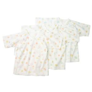 あすつく ベビー 子供服 キムラタン 愛情設計 日本製 フライス サボンプリント短肌着 50cm|baby-kids-kimuratan