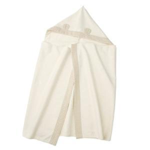 あすつく ベビー 子供服 キムラタン 愛情設計 日本製 オーガニック コットン フード付タオル|baby-kids-kimuratan
