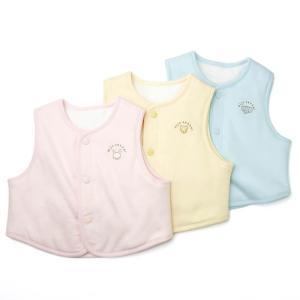 あすつく ベビー 子供服 キムラタン 愛情設計 日本製 リバーシブル ベスト 50〜80cm|baby-kids-kimuratan