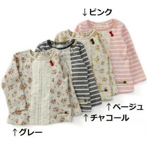 あすつく 子供服 女の子 キムラタン Biquette ビケット  トレーナー 80 90 95 100 110 120 130|baby-kids-kimuratan