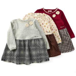 あすつく 子供服 女の子 キムラタン Biquette ビケット  ワンピース 80 90 95 100 110 120 130|baby-kids-kimuratan