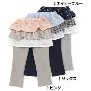 ふりふりのスカートが付いていて、安心して1枚で着られるスパッツです!スポーティーなパーカーと合わせて...