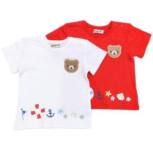 あすつく ベビー 男の子 キムラタン Piccolo ピッコロ  半袖Tシャツ 70 80 90 95 baby-kids-kimuratan