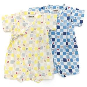 ベビー 男の子 キムラタン Piccolo ピッコロ  甚平オール 70 80|baby-kids-kimuratan