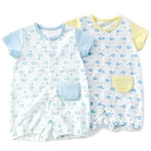 お出かけにもおすすめの半袖グレコ☆綿100%のメッシュ素材で通気性に優れ、汗かきの赤ちゃんにも安心!...