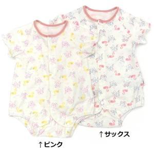 あすつく ベビー 女の子 キムラタン coeur a coeur クーラクール  ボディシャツ 60 70|baby-kids-kimuratan