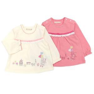 子供服 女の子 キムラタン coeur a coeur クーラクール  長袖Tシャツ 70 80 90 95 100 本体綿100% baby-kids-kimuratan