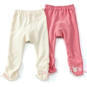 クーラクールのくしゅくしゅスパッツは、後のフリルや裾リボンで可愛く女の子らしいデザインに♪やわらかい...