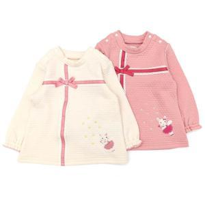 あすつく 子供服 女の子 キムラタン coeur a coeur クーラクール  ハイネックTシャツ 70 80 90 95 100 綿100%|baby-kids-kimuratan