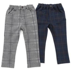 合わせる服によって、きれいめにもカジュアルにも使える着まわしバツグンのチェックパンツです( ^-^)...