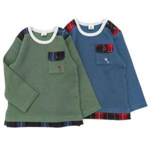 子供服 男の子 キムラタン La Chiave ラ キエーベ  長袖Tシャツ 80 90 95 100 110 120 130 綿100%|baby-kids-kimuratan