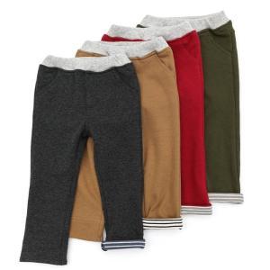 【ほか暖シリーズ】どの色も欲しくなる、使い易いカラーで揃えました!裾の折り返しには配色のボーダーを♪...