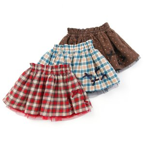 あすつく 子供服 女の子 キムラタン Lily ivory リリー アイボリー 80 90 95 100 110 120 130 2WAYスカート|baby-kids-kimuratan