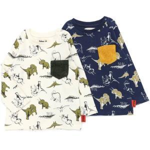 【nousノベルティ対象商品】あすつく 子供服 男の子 キムラタン Bobson ボブソン  Tシャツ(長袖) 80 90 95 100 110 120 130 本体綿100%|baby-kids-kimuratan