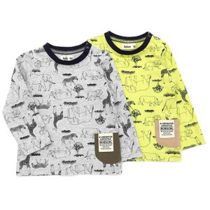 【7/2 13:59販売終了予定】あすつく 子供服 男の子 キムラタン Bobson ボブソン  長袖Tシャツ 80 90 95 100 110 120 130|baby-kids-kimuratan