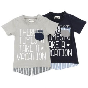 子供服 男の子 キムラタン Bobson ボブソン  半袖Tシャツ 80 90 95 100 110 120 130 baby-kids-kimuratan