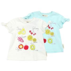 あすつく 子供服 女の子 キムラタン Bobson ボブソン  Tシャツ(半袖) 80 90 95 100 110 120 130 baby-kids-kimuratan