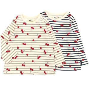 あすつく 子供服 女の子 キムラタン Bobson ボブソン  Tシャツ(長袖) 80 90 95 100 110 120 130 綿100%|baby-kids-kimuratan