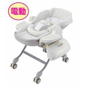 【レンタル延長1ヶ月】電動コンビ ロアンジュオートスウィング RX-750 クリスタル126779  ベビー用品|baby-land