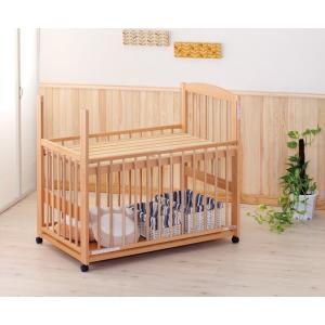 レンタル延長1ヶ月グランデ 3オープン ハイタイプ 小物置板付 中型(120×70) レンタルベビーベッド ベビー用品|baby-land