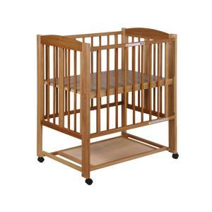 【レンタル6ヶ月】石崎家具 ミニ ワンタッチハイベッド プチ(小物置き板付) スクエア(90×60) レンタルベビーベッド ベビー用品|baby-land