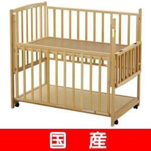 レンタル延長1ヶ月ヤマサキ ハイタイプベッド・2オープン 中型(120×70) レンタルベビーベッド ベビー用品|baby-land