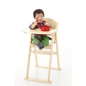 【次回12月上旬入荷予定】折りたたみ キッズチェア カトージ 木製ハイチェア CENA ステップ切替 ブラウン(22406) / 木製ハイチェアセナ キャッシュレス baby-land 06