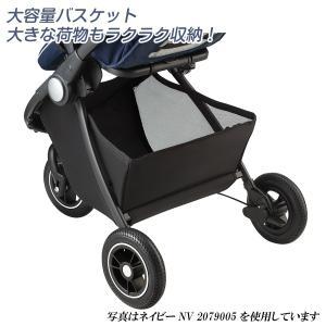 ベビーカー A型 アップリカ イージーバギー グレーGR 2079004 Aprica Easy Buggy 送料無料 イージー・バギー|baby-land|12