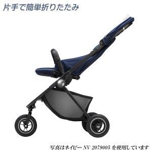 ベビーカー A型 アップリカ イージーバギー グレーGR 2079004 Aprica Easy Buggy 送料無料 イージー・バギー|baby-land|13