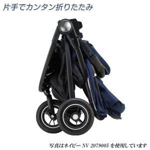 ベビーカー A型 アップリカ イージーバギー グレーGR 2079004 Aprica Easy Buggy 送料無料 イージー・バギー|baby-land|06