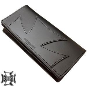 DEAL DESIGN ディールデザイン ハーフクロス ロング ウォレット メンズ 長財布 サイフ