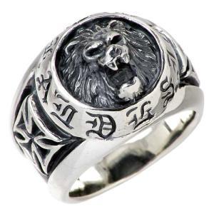 ディールデザイン DEAL DESIGN シルバー リング 指輪 メンズ レディース NEWラージ ライオン|baby-sies