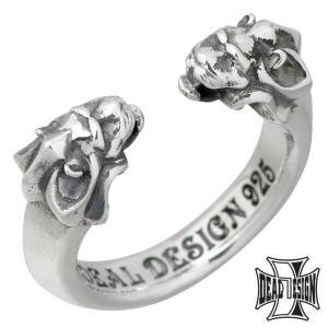 DEAL DESIGN ディールデザイン シルバー リング 指輪 メンズ レディース キッシーズライオン 5号〜21号...