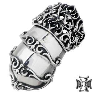 DEAL DESIGN ディールデザイン シェード アーマー シルバー リング 指輪 メンズ レディース 7〜23号 星