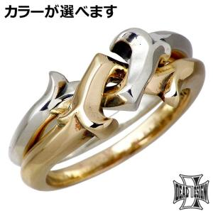 DEAL DESIGN ディールデザイン レイジング ギメル シルバー リング 指輪 メンズ レディース 3〜23号...