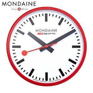 Mondaine モンディーン ウォールクロック レッド A990.CLOCK.11SBC baby-sies