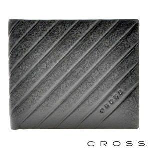 CROSS クロス GRABADO 二つ折り札入れ ショートウォレット ブラック|baby-sies