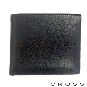 CROSS クロス ボールペン&二つ折り財布セット 札入れ ショートウォレット NUEVA ブラック|baby-sies