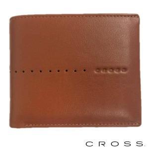 CROSS クロス ボールペン&二つ折り財布セット 札入れ ショートウォレット NUEVA ブラウン|baby-sies