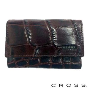 CROSS クロス キーケース COCO キーホルダー ブラウン|baby-sies