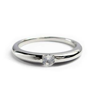 誕生石 一粒カラーストーン シルバー リング 6月 ブルームーンストーン 指輪|baby-sies