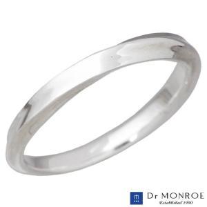 ドクターモンロー Dr MONROE シルバー リング 指輪 ナロー メビウス シンプル 7〜23号 メンズ レディース|baby-sies