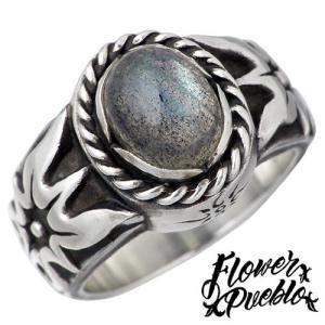 Flower Pueblo フラワープエブロ エトピリカ シルバー リング ラブラドライド 指輪 baby-sies